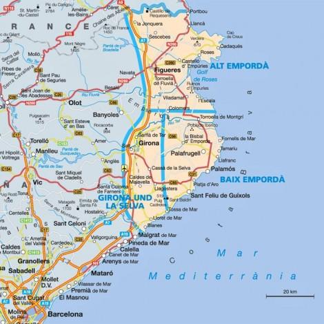 Pobřeží Costa Bravy